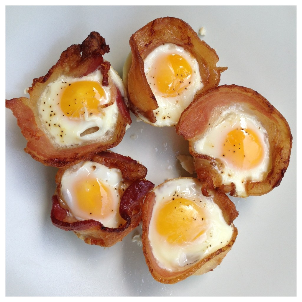 Easy Bacon-Egg Cups