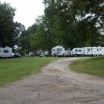 Rows of RV's